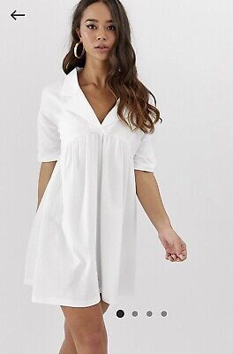 AU20 • Buy Asos Casual White Dress Brand New Size 14
