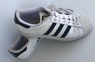 AU35.99 • Buy ADIDAS Superstar Shoes Sneakers  White - Size US 9 (Male) Authentic