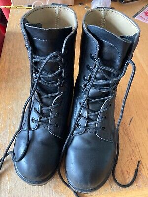 £9.99 • Buy Cadet Army Military Assault Boots Size 6 Black Leather