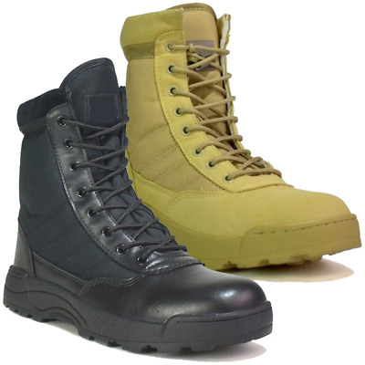 £19.99 • Buy Mens Security Police & Army Combat Military Work Boots Size 6 To 11 UK