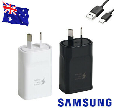 AU3.96 • Buy Genuine SAMSUNG 9V FAST AC Wall Charger For Galaxy S8 S9 S10 S20 Plus / Note 8 9