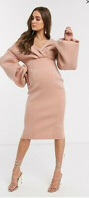 AU45 • Buy ASOS Maternity Dress Blush. New With Tag