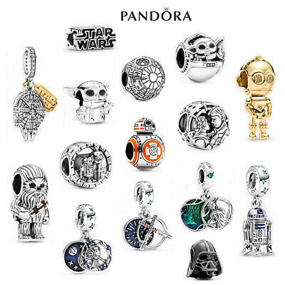 AU28.99 • Buy ALE S925 Sterling Silver Genuine Pandora Star Wars Charm With Gift Box