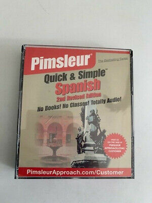 £2.17 • Buy Pimsleur Quick & Simple Spanish 2nd Revised Edition 4 CDs
