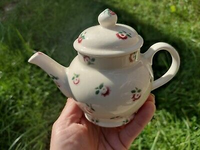 £40 • Buy Emma Bridgewater Dollies Teapot Vintage Tiny Roses Scattered Used
