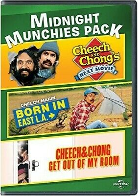 £5.43 • Buy Midnight Munchies Pack (Cheech And Chong's Next Movie / Born In East L.A. / Che