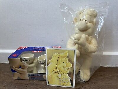 £25 • Buy Lurpak Butter Vintage Kitchenware Collectable Boxed Egg Cups, Teddy & Postcard