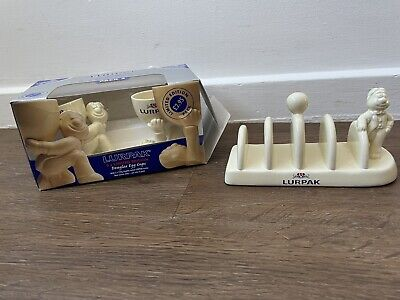 £15 • Buy Lurpak Butter Vintage Kitchenware Collectable Boxed Egg Cups & Toast Rack