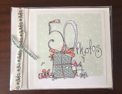 £7 • Buy 50th Birthday Photo Album (by Tracey Russell) **NEW**