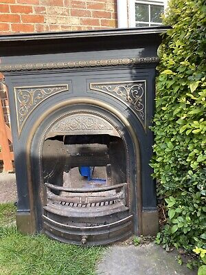 £100 • Buy Victorian Style Cast Iron Fire Surround
