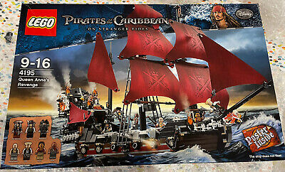 £650 • Buy Lego Pirates Of The Caribbean Queen Anne's Revenge 4195 Sealed New In Box