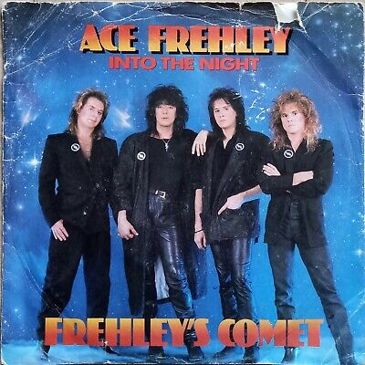 £2 • Buy Kiss - Ace Frehley - Into The Night - British 7  Single