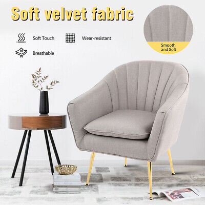 AU85.99 • Buy House Armchair Lounge Chair Accent Armchairs Velvet Dining Chairs Soft Sofa