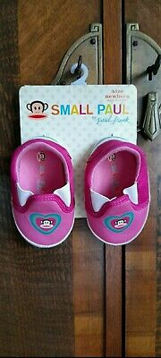 £3.99 • Buy Paul Frank Small Paul Newborn Pink Baby Comfy Fit Cotton Booties