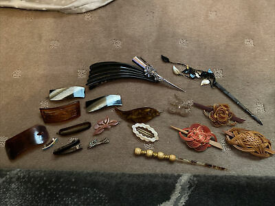 AU10 • Buy Assortment Of Old Hair Accessories