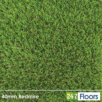 £0.99 • Buy Realistic Artificial Grass, Soft, High Quality Fake Grass, Astro Turf 40mm 2m 4m