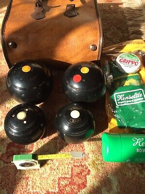 £14.99 • Buy Lawn Bowls Set With Accessory Kit And Case