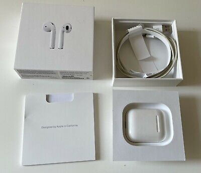AU41 • Buy Apple AirPods With Charging Case, Still In Box - White