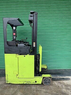 £2700 • Buy Hyster BR5 15N Electric Reach Forklift Truck 1400kg Lift USA Made Very Compact