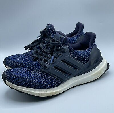 AU45.29 • Buy Adidas Ultraboost 4.0 Navy Blue White Running Shoes Size 4.5 Youth / 6 Women's