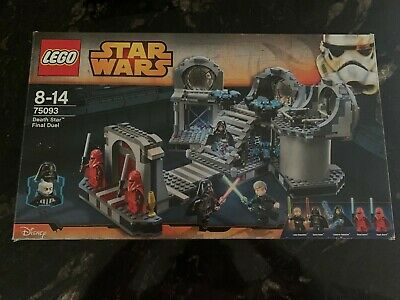 £50 • Buy LEGO Star Wars Death Star Final Duel (75093) Used Box And Instructions