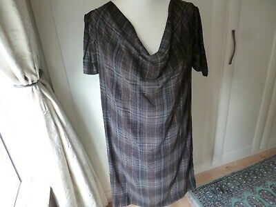 £49 • Buy AUTHENTIC VIVIENNE WESTWOOD ANGLOMANIA SHIFT DRESS FITS SIZE 14/16 Quirky Sleeve