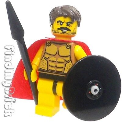 £5.81 • Buy M004 Lego Warrior Spartan God Minifigure With Muscles & Ribs Outline Pattern NEW