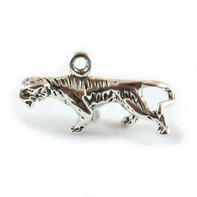 Tiger Charm - 3D Large Sterling Silver Charms Big Cat • 14.50£