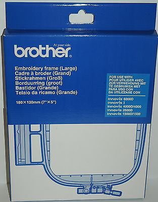 Brother EF75 Large Embroidery Machine Hoop 18cm X 13cm Innovis 1500 4000 V3 V5  • 43.95£