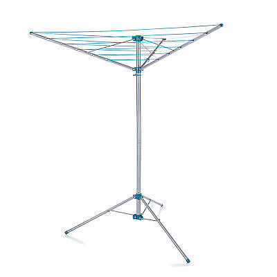 Minky Freestanding Indoor/Outdoor Airer 15m Drying Space - Silver • 24.99£