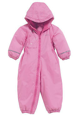 Regatta Kid Girl's Waterproof Breathable Padded Splosh Suit -Lipstick Pink • 14.50£