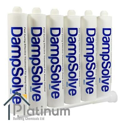 £39.60 • Buy 6 X DAMPSOLVE Damp Proof Injection Cream | DPC Course Rising Damp Treatment
