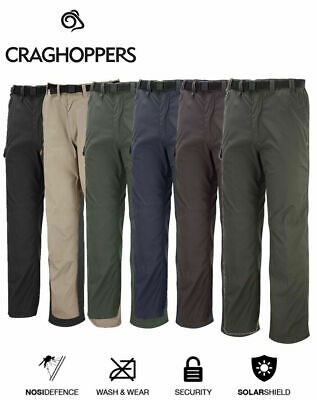 Craghoppers Mens Kiwi Classic Casual Walking Trouser Multi Pockets Nosi Defence • 27.49£