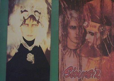 Set 2 Siouxsie And The Banshees Postcards Free Uk P&p • 1.99£