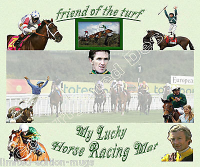 £5.99 • Buy Horse Racing Lucky Mouse Mat Limited Edition Great Gift