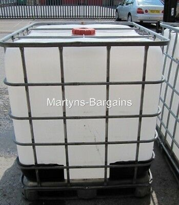 IBC Water Tank. 1000 Litre IBC Container. Water Storage • 60£