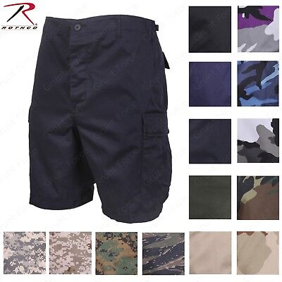 $27.99 • Buy Combat BDU Cargo Shorts Camouflage Camo Military Army