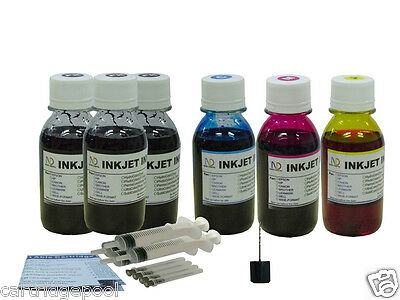 £20.17 • Buy Refill Ink For Canon PG-40 CL-41 Ip1700 Ip1800 MP180 MP190 MP210 MP460 6x4oz/S