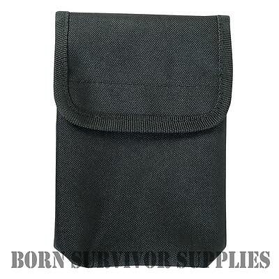 VIPER NOTEBOOK POUCH - Black Security Police PCSO Waterproof Notepad Belt Holder • 9.99£