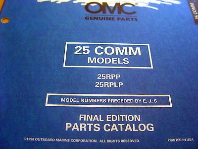 25 hp johnson outboard motor parts