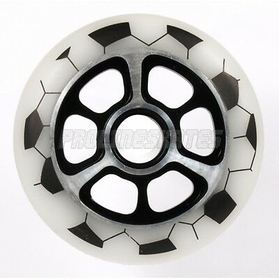 Yak World Cup Metal Core 100mm Scooter Wheel - White • 17.99£