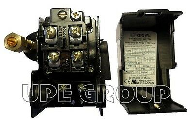 AU23.53 • Buy Heavy Duty Pressure Switch For Compressor Replaces Furnas Square D 140-175