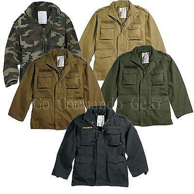 $92.99 • Buy Classic Vintage M-65 Field Jacket Military Army Tactical Field Combat M65 Rothco
