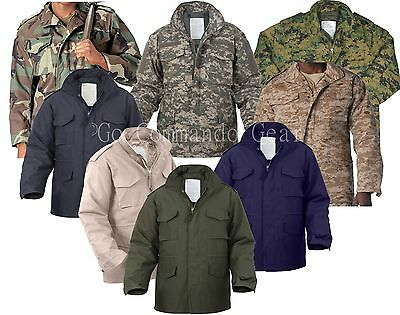$96.99 • Buy M-65 Field Jacket Military Army Tactical Field Combat M65 With Liner By Rothco
