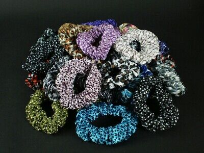 $6.99 • Buy New Fashion 12pcs Mix Color Casual Women Scrunchies Girl Hair Accessories