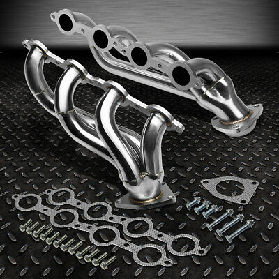 $108.88 • Buy For 02-16 Chevy Silverado 1500 2500hd 3500hd Stainless Exhaust Header Manifold