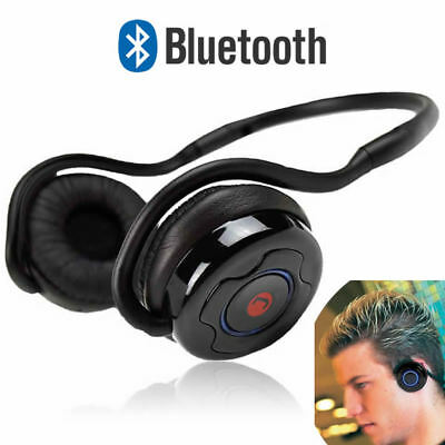 JUSTOP Slim Sports Bluetooth Wireless Headphones/Headset For IPhone,iPad,Samsung • 14.99£