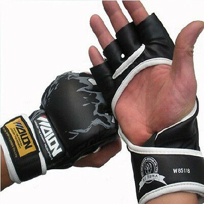 AU23.99 • Buy Quality Ufc Style--Gloves--mma Kick Boxing Bjj Grappling Fight Sparring Training