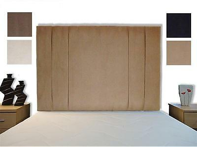 Mili High Bed Headboard F.Suede Single, Double, King, Super All Sizes, Colours • 92.70£