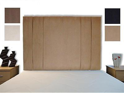 £49.50 • Buy Mili High Bed Headboard F.Suede Single, Double, King, Super All Sizes, Colours